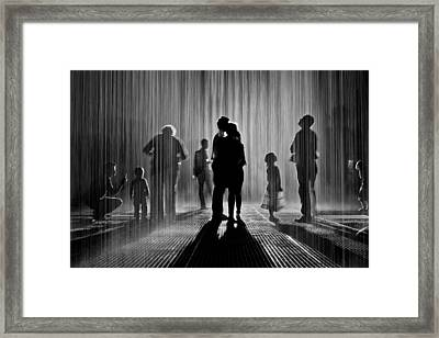 Each Other Framed Print by Jane Hu