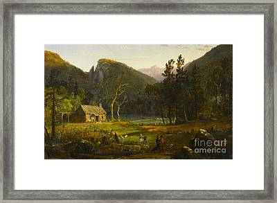 Eagle Cliff Franconia Notch New Hampshire Framed Print by Celestial Images