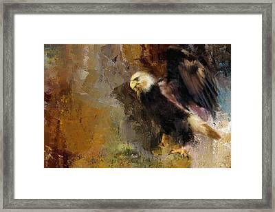 Eagle Dance Framed Print by Jai Johnson