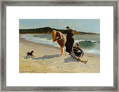 Eagle Head Manchester  Framed Print by Winslow Homer