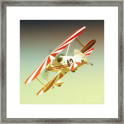 Earl Allen And Pitts Race 42 The Other Woman Framed Print by Gus McCrea