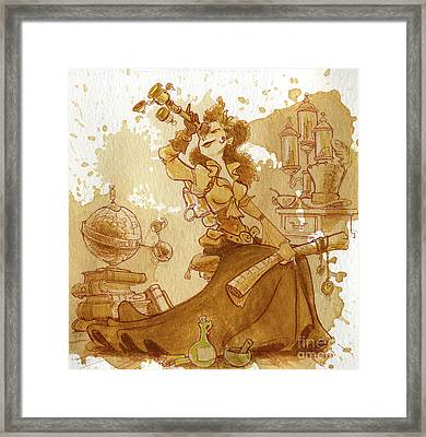 Earl Grey Framed Print by Brian Kesinger