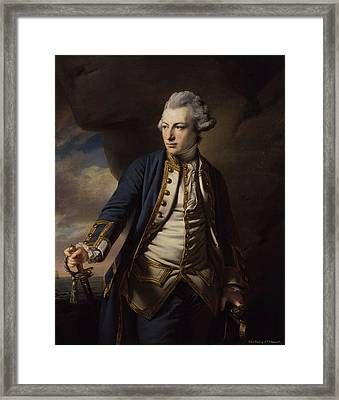 Earl Of St Vincent Framed Print by MotionAge Designs