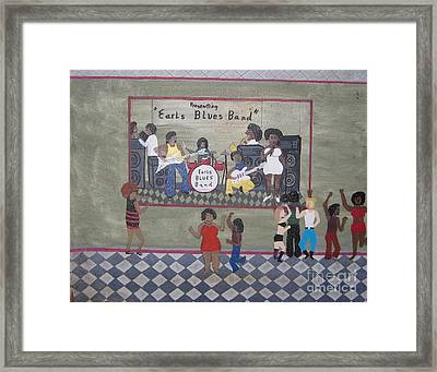 Earls Blues Band Framed Print by Gregory Davis