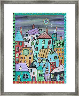 Early Eve 1 Framed Print by Karla Gerard