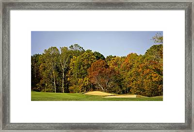 Early Fall Color Pipestem West Virginia Framed Print by Teresa Mucha