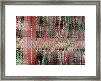 Early Mainframe Art Framed Print by Rona Black