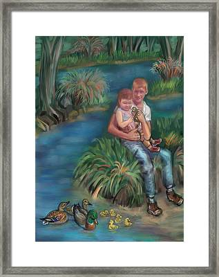 Early Memory Of The Wonder Of Life Framed Print by Dawn Senior-Trask