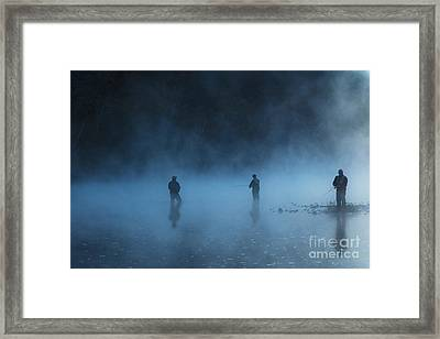 Early Morning Fishing Framed Print by Tamyra Ayles