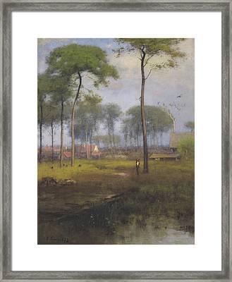 Early Morning, Tarpon Springs Framed Print by George Inness
