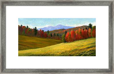 Early October Framed Print by Frank Wilson