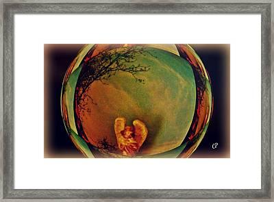 Earth Angel Framed Print by Christine Paris