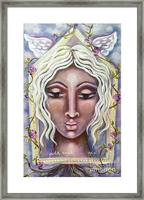 Earth Angel Framed Print by Maya Telford