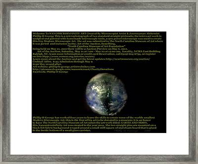 Earth  Framed Print by Phillip H George