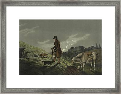 Earth Stopper Framed Print by Henry Thomas Alken