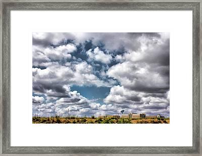 Earthbound - Live Oak Texas Framed Print by Wendy J St Christopher