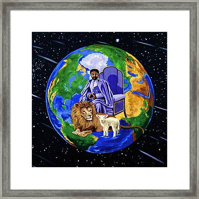 Earth's Rightful Ruler Framed Print by EJ Lefavour