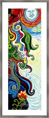 Earths Tears Framed Print by Genevieve Esson