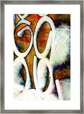 Earthy Abstract Framed Print by Tom Gowanlock