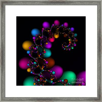 Easter Dna Galaxy 111 Framed Print by Rolf Bertram