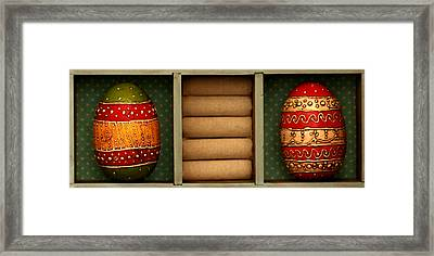 Easter Greets Framed Print by Heike Hultsch
