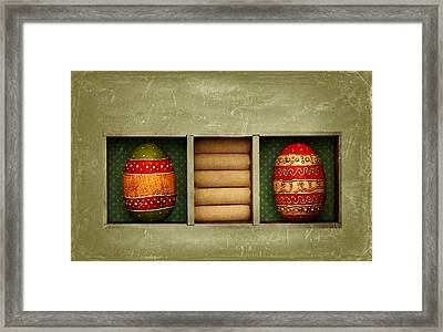 Easter Picture Framed Print by Heike Hultsch