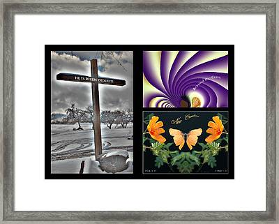 Eastereality Framed Print by Greg Taylor