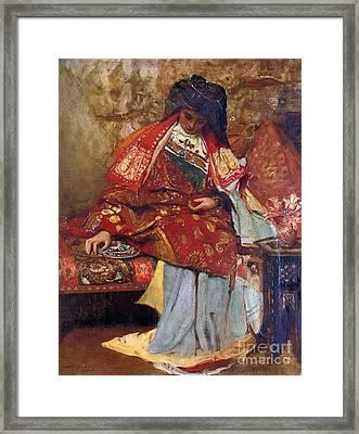 Eastern Girl Framed Print by George William