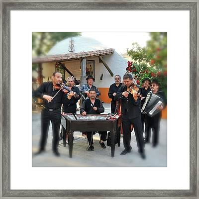 Eastern Gypsies Band Framed Print by Bobby Bouchikhi