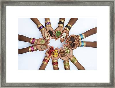 Eastern Spices Framed Print by Tim Gainey