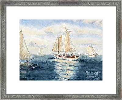Eastwind Framed Print by Melly Terpening