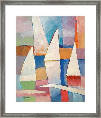 Easy Sailing Framed Print by Lutz Baar
