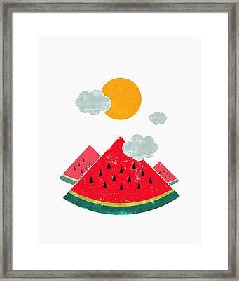 Eatventure Time Framed Print by Mustafa Akgul