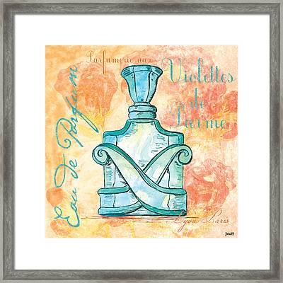 Eau De Parfum Framed Print by Debbie DeWitt