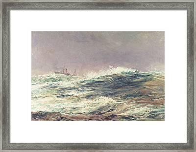 Ebb Tide Framed Print by William Lionel Wyllie