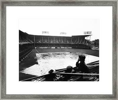 Ebbets Field, C1950 Framed Print by Granger