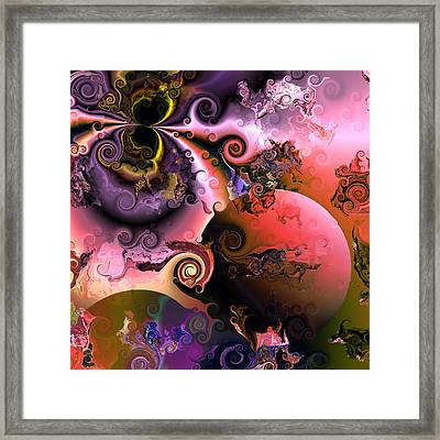 Ebullient Color Framed Print by Claude McCoy