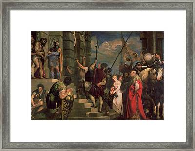 Ecce Homo, 1543 Framed Print by Titian