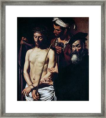 Ecce Homo, 1605 Framed Print by Caravaggio