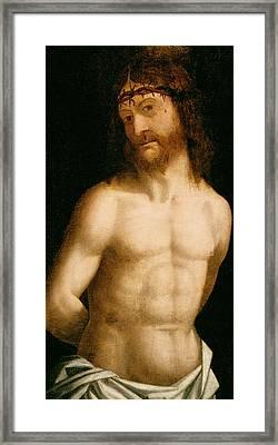 Ecce Homo Framed Print by Andrea Mantegna