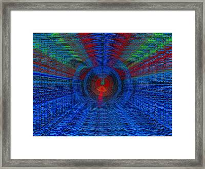 Echo Chamber Framed Print by Tim Allen