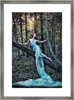 Echoes Of A Dryad Framed Print by Spokenin RED