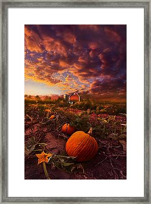 Echos You Can See Framed Print by Phil Koch