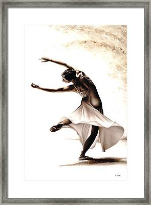 Eclectic Dancer Framed Print by Richard Young