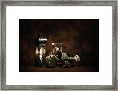 Eclectic Ensemble Framed Print by Tom Mc Nemar
