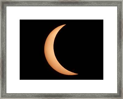Eclipse Framed Print by George Leask