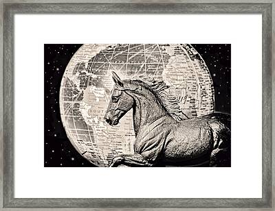 Eclipse Framed Print by Jeff  Gettis