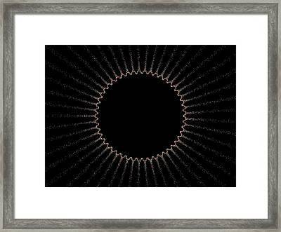 Eclipse Framed Print by Thomas Smith