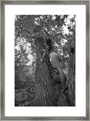 Eden 3 Framed Print by Blue Muse Fine Art