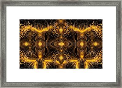 Eden Framed Print by Gayle Odsather